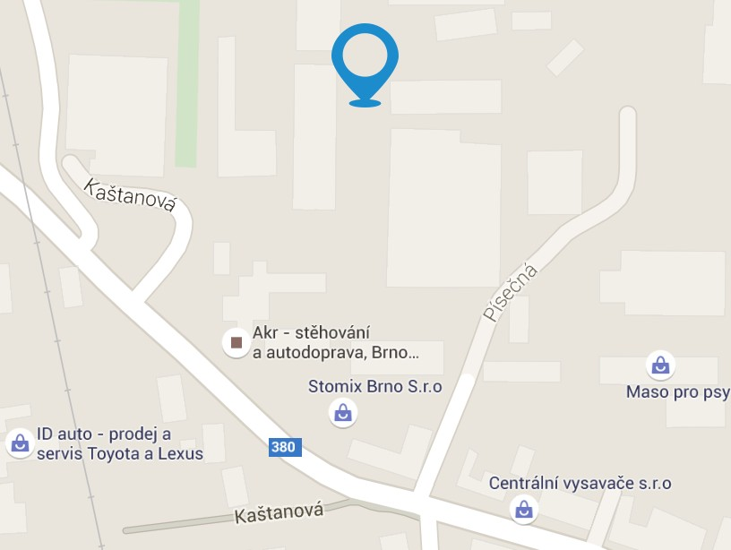 Map Joppa Logistics, s.r.o  Brno