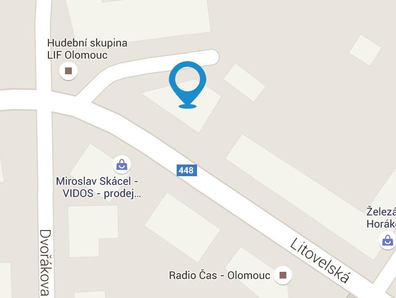 Joppa.cz mapa Olomouc