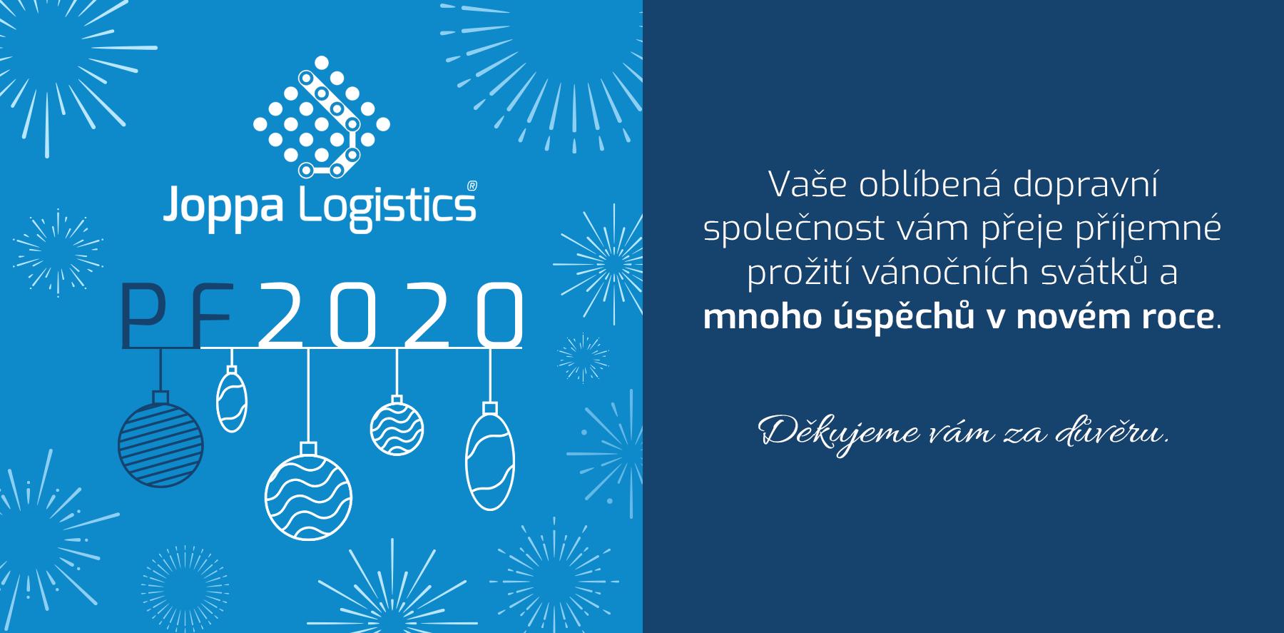 Joppa Logistics s.r.o. PF 2020