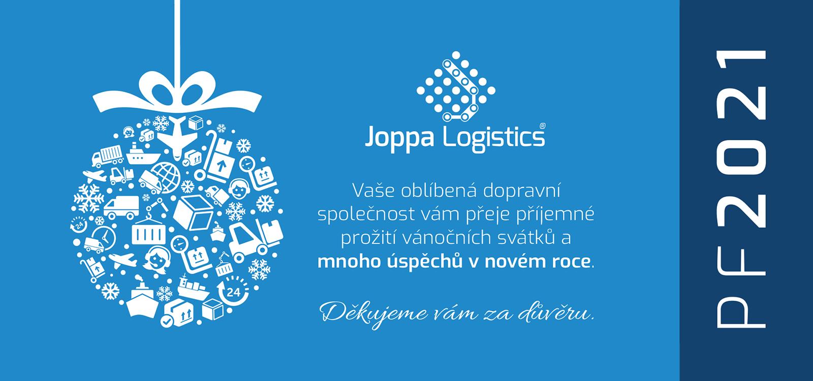 Joppa Logistics s.r.o. PF 2021